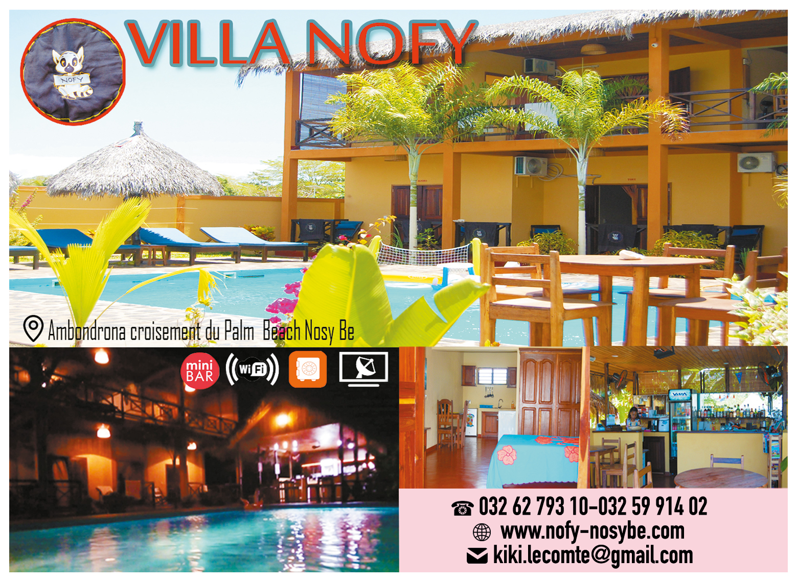 VILLA NOFY |mianjaiaka communication
